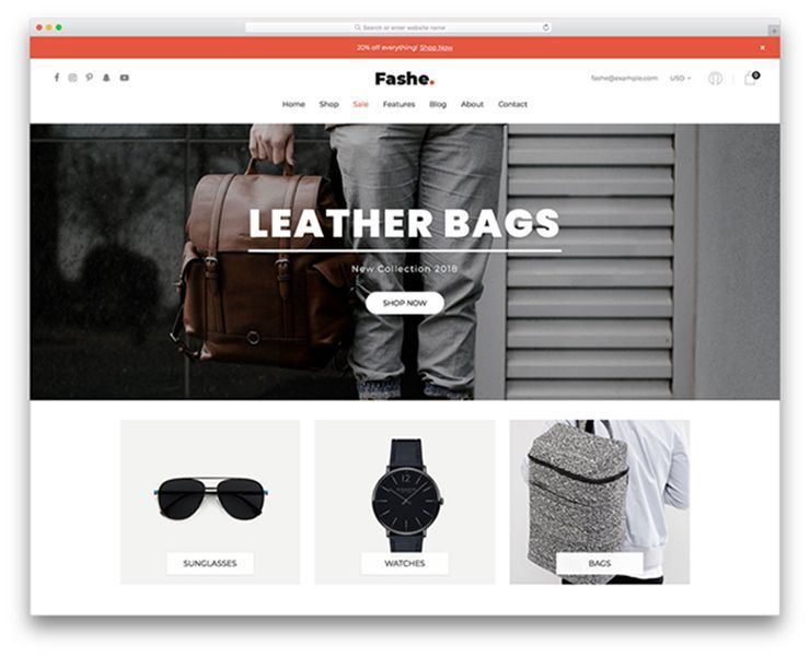 UNIQUE ECOMMERCE WEBSITES OR USE TEMPLATES - 32