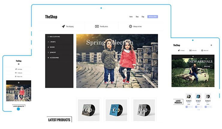UNIQUE ECOMMERCE WEBSITES OR USE TEMPLATES - 35