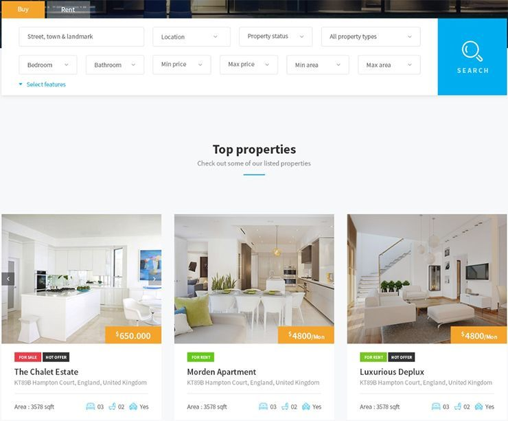 HOW TO DESIGN A REAL ESTATE WEBSITE - 33
