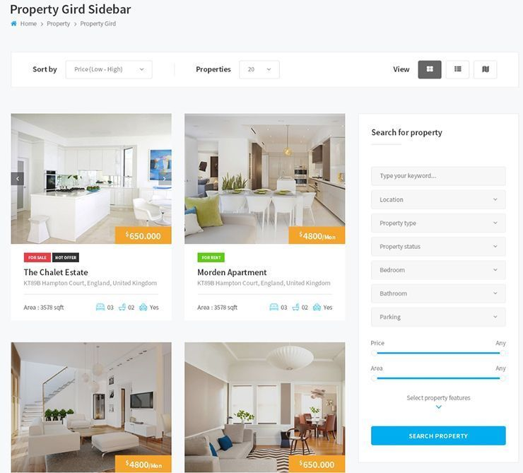 HOW TO DESIGN A REAL ESTATE WEBSITE - 32